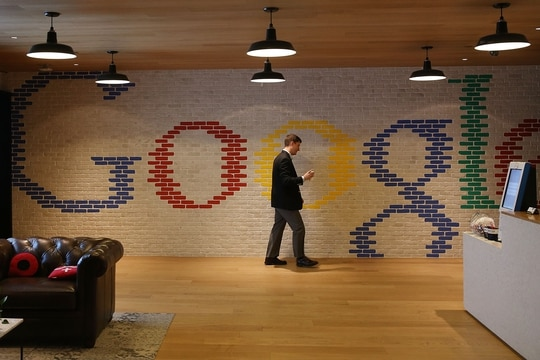 Google has warned about state-backed cyberattacks on presidential campaigns. (Mark Wilson/Getty Images)