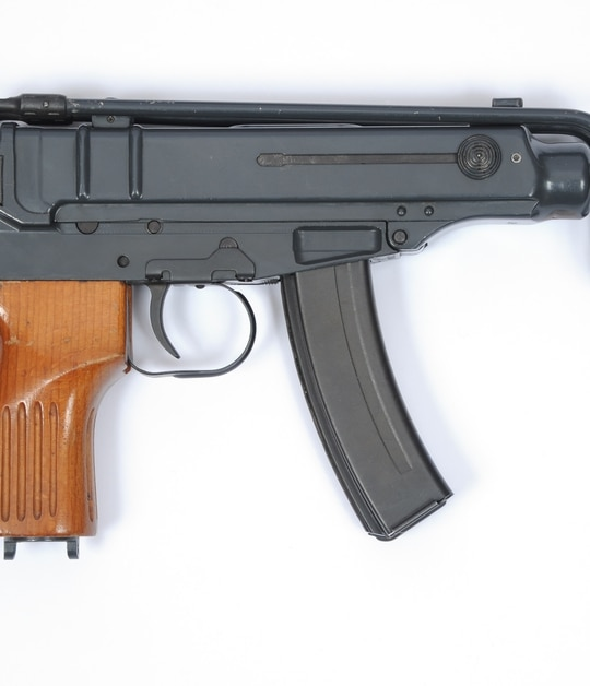 The Škorpion (Scorpion) Vz61, A Czechoslovak 7.65 mm submachine gun with a high rate of fire and a very compact design