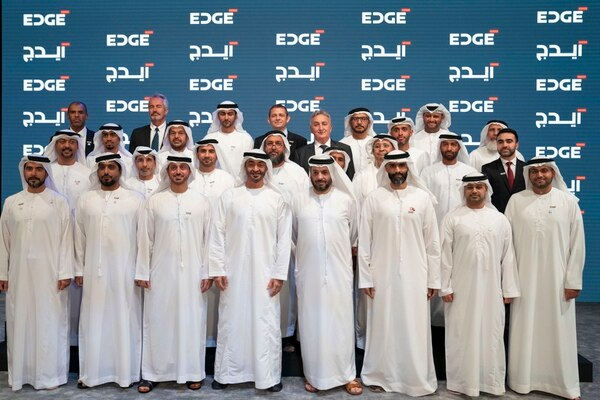 The inauguration ceremony of Edge took place at the St. Regis Saadiyat Island Resort in the United Arab Emirates. (Hamad Al Mansoori for the UAE Ministry of Presidential Affairs)