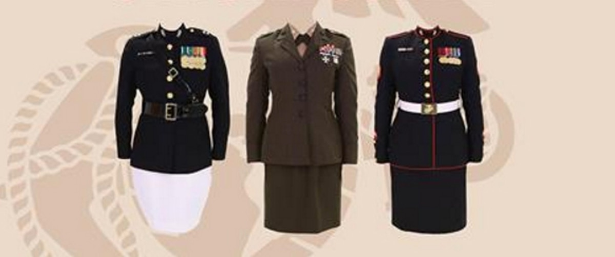 Marine Corps mulls changes to female dress, service uniforms
