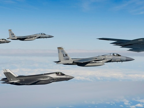 The U.S. Air Force is set to announce that it can push software updates to an aircraft in flight. (U.S. Air Force photo/ Tech. Sgt. Matthew Plew)