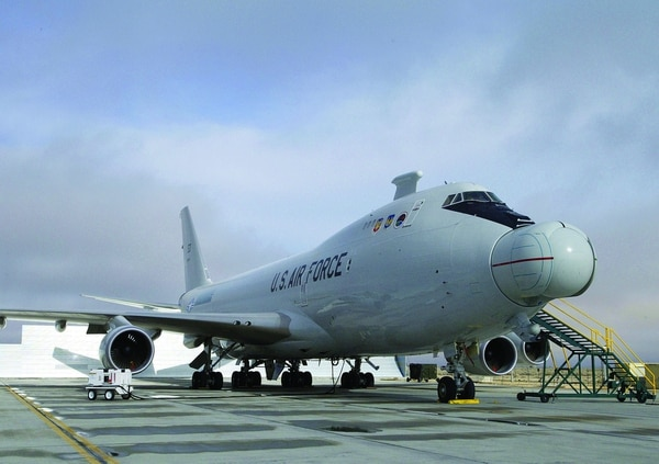 The YAL-1A is a modified Boeing 747-400F. (Master Sgt. James Graham/Air Force)