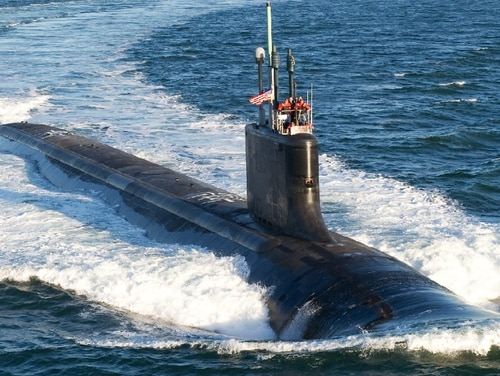 The U.S. Navy announced Dec. 12 the largest-ever shipbuilding contract for nine Virginia-class attack submarines. (Courtesy of General Dynamics Electric Boat via U.S. Navy)