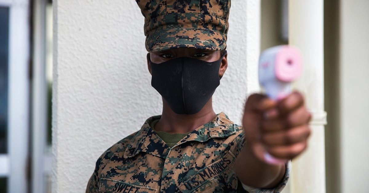 Marines threatened to be charged leave for quarantine stays