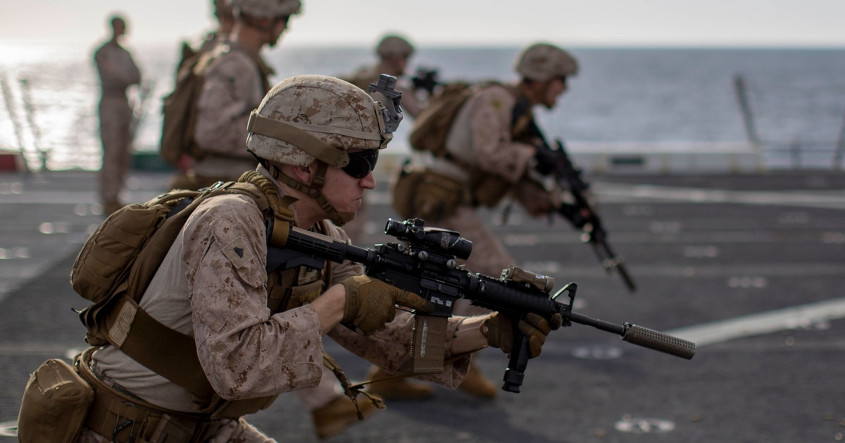 All Of The Marine M27 Rifles Are In If You Re Not A Grunt Or