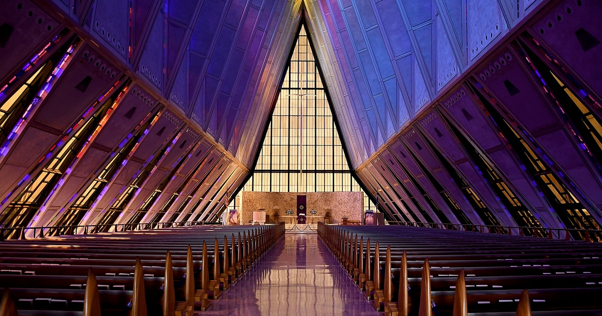 Pentagon awards contract to complete delayed repairs on Air Force Academy's Cadet Chapel