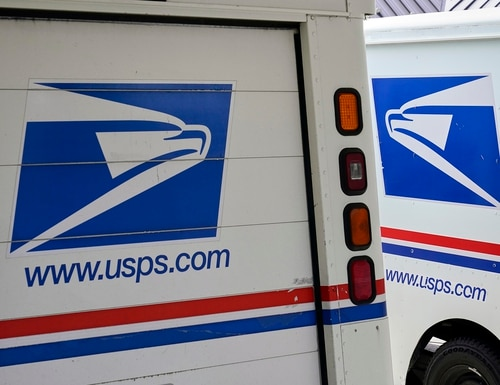 The USPS has lost more than a billion dollars annually during the last 14 consecutive years, and in 2020, USPS was $9.2 billion in the red. (Nati Harnik/AP)