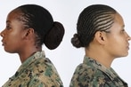 Soldiers cheer Army's decision to authorize dreadlocks in uniform