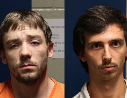 Shawn Michael Wisniewski (left) and Christopher Dwayne King (right) were indicted for the murder of Army veteran Terry Woodall.