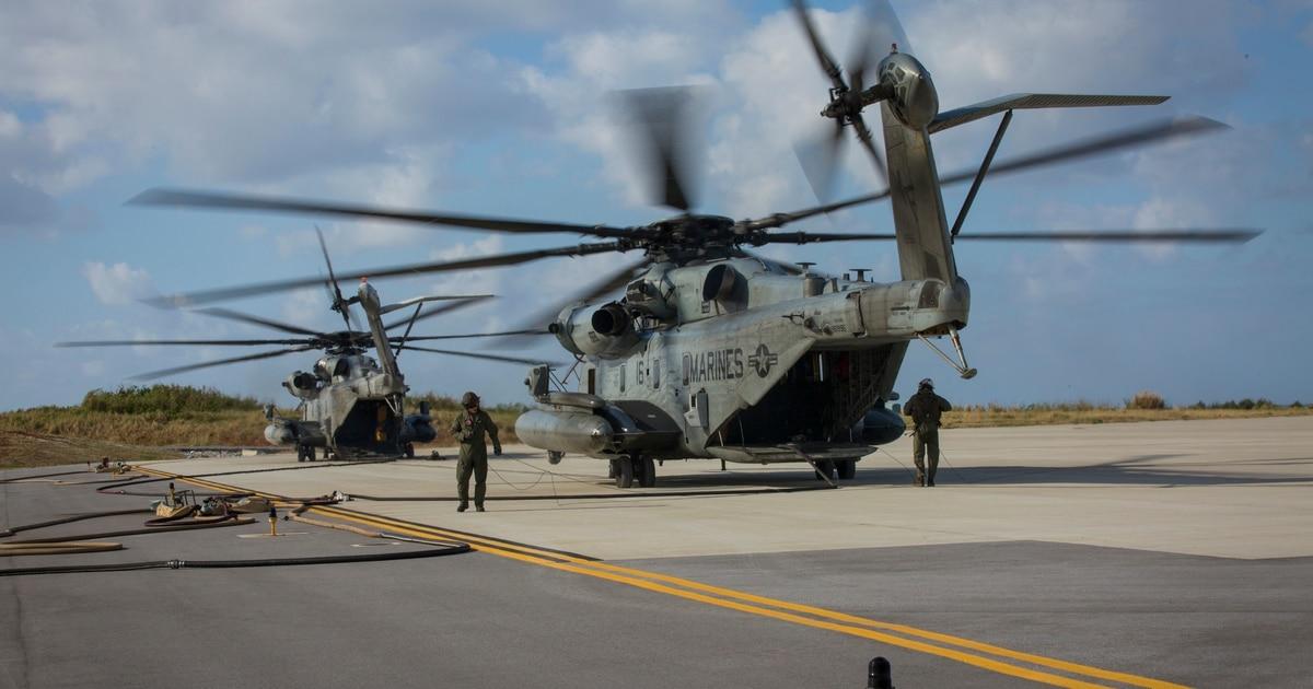 Okinawa-based CH-53 squadron commander sacked