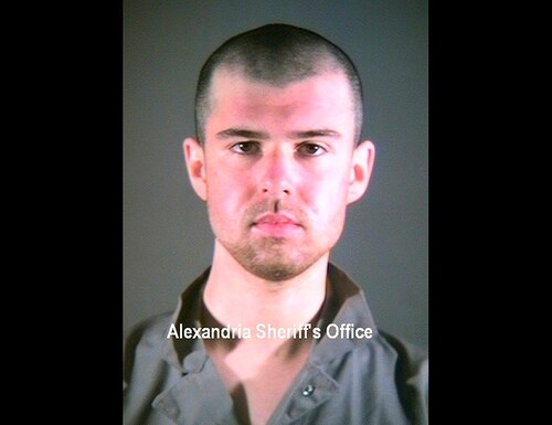 This January 2002 photo provided by the Alexandria Sheriff's Office in Alexandria, Va., shows John Walker Lindh. (Alexandria Sheriff's Office via AP)
