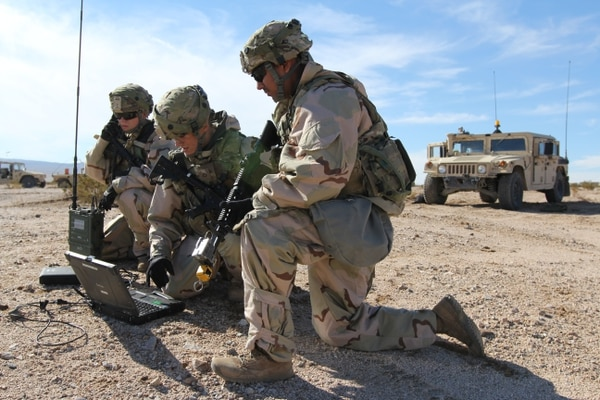 The Army hopes to use an upcoming experiment to help its equipping strategy for the I2CEWS. (Steven Stover/U.S. Army)