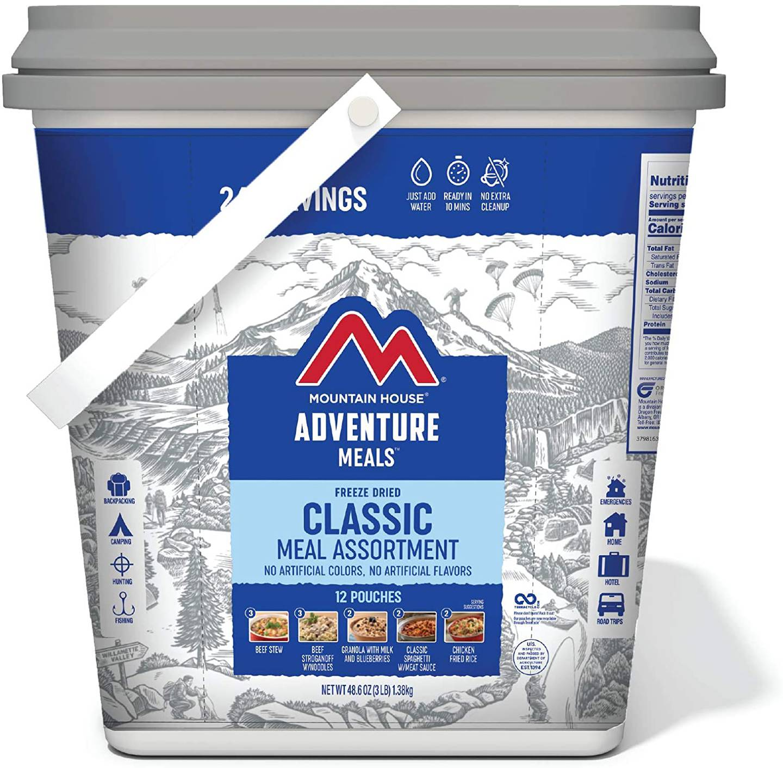 mountain house adventure meals mre