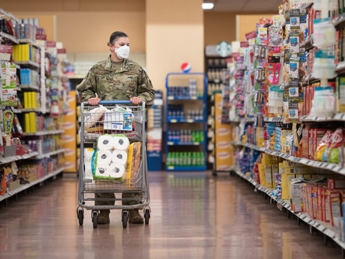 The cost of shopping at the commissary is going up. (Airman 1st Class Brooke Moeder/Air Force)