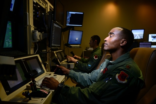 16th Air Force has made strides in achieving full integration of a raft of new capabilities, however, it hasn't reached the maturity level it ultimately desires. (U.S. Air Force photo/Staff Sgt. Vernon Young Jr.)