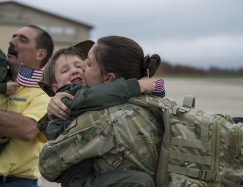 As it stands, a DoD policy will bar long-serving troops from transferring the GI Bill to their dependents starting in July. (Capt. Holli Nelson/Air National Guard)
