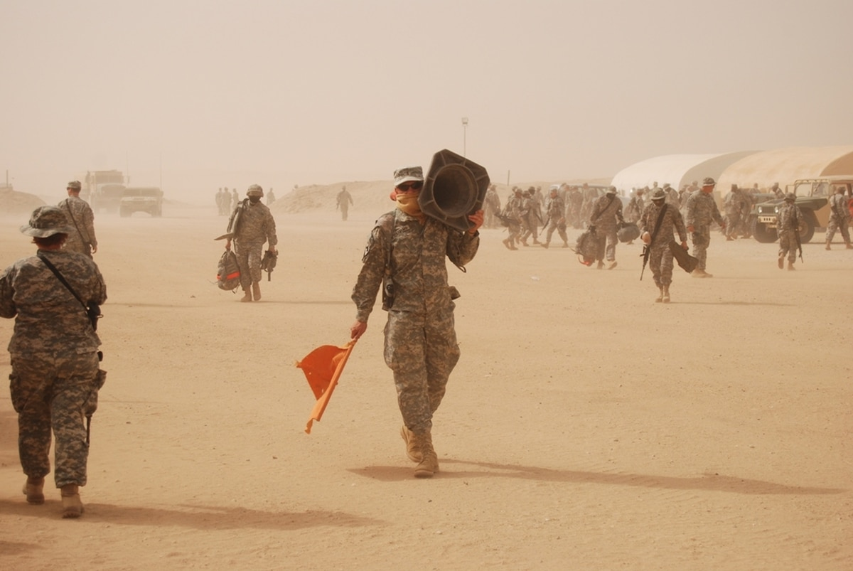 Researchers seek combat troops with lung symptoms