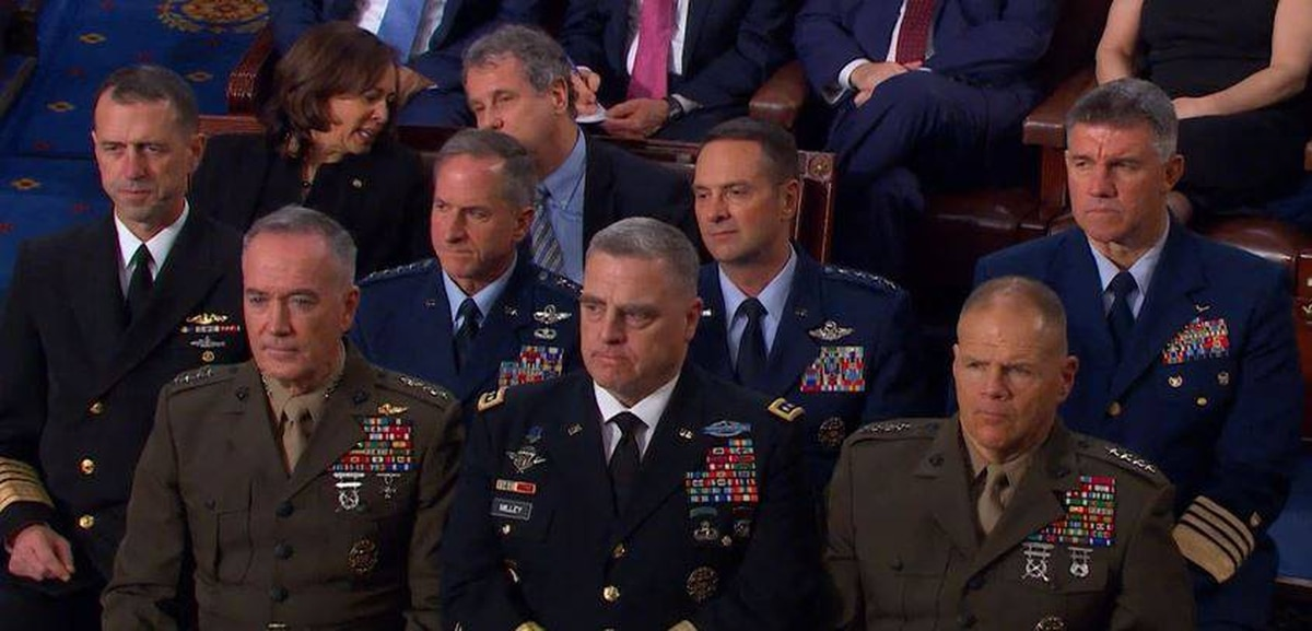 b3923b4f6a4 Air Force general calls himself out for wearing upside-down ribbon rack  during State of the Union