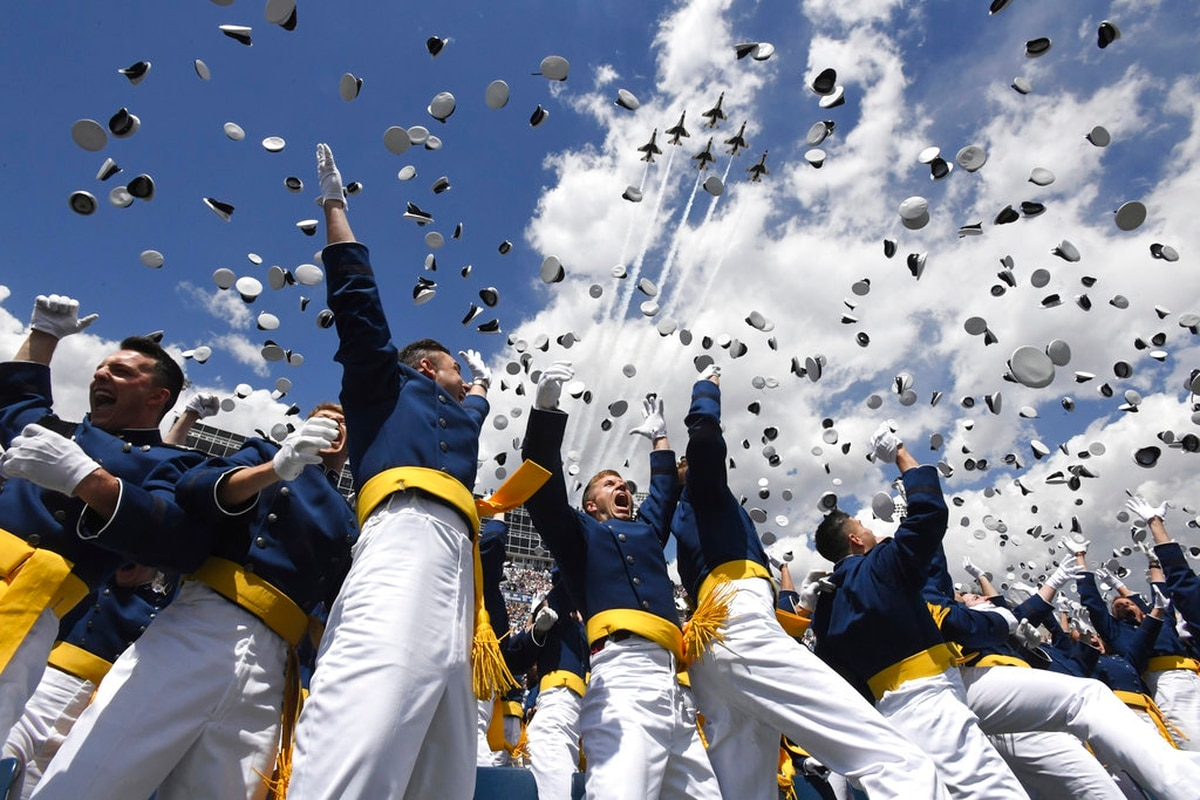 Usafa Graduation 2020.President Trump To Speak At Air Force Academy Graduation