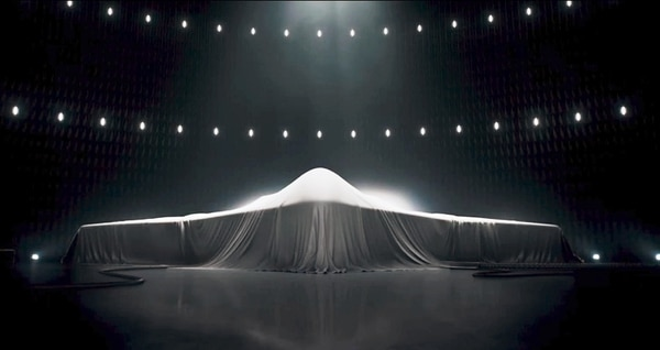 Northrop's work on the B-21 remains largely shrouded in secrecy. (Northrop Grumman)