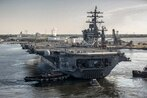Two carrier cooks plead guilty to secret video recording charges