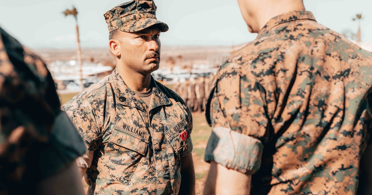 Marine in vehicle hit by an ISIS anti-tank guided missile earns Bronze Star for valor in Syria