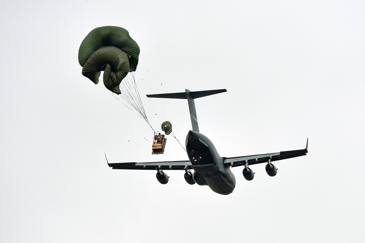 C-17 accidentally airdrops Humvee over neighborhood near Fort Bragg