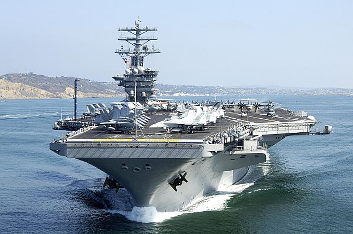The USS Nimitz CVN-68