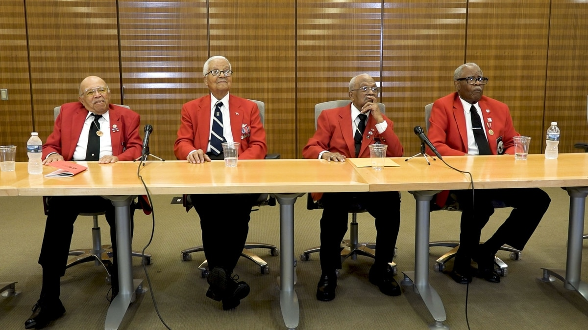 Red Tails reunited: Pioneering Tuskegee Airmen proudly look back