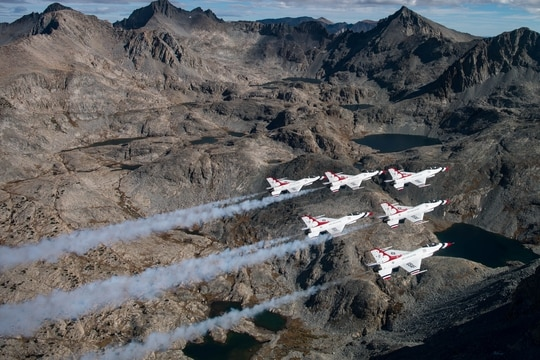 The U.S. Air Force Air Demonstration Squadron