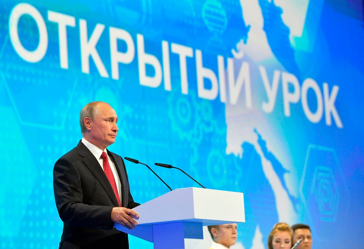 Putin Leader In Artificial Intelligence Will Rule World