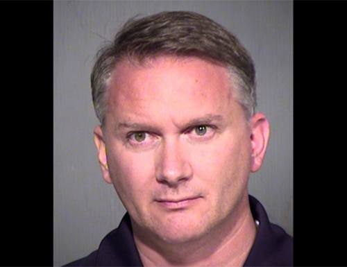 Army veteran Daniel Francis Daddio was arrested and charged with disorderly conduct and indecent exposure. (Maricopa County Sheriff's Office)