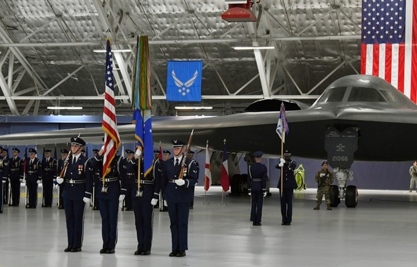 You have the watch': Air Force salutes departing Secretary Wilson