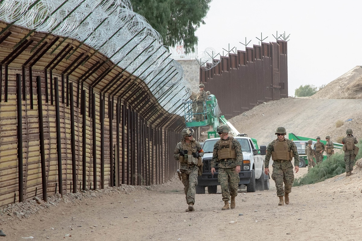 Deployments to US-Mexico border straining Marine Corps