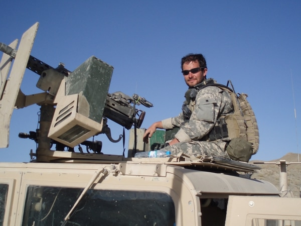 Former Staff Sgt. Ronald Shurer II will receive the Medal of Honor for his actions during a massive firefight April 6, 2008, in Afghanistan. (Courtesy photo)
