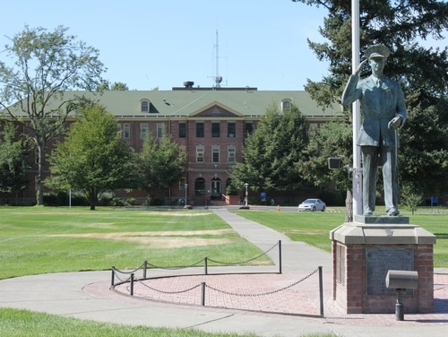 The Jonathan M. Wainwright Memorial Veterans Affairs Medical Center in Walla Walla, Wash., recently reported its first positive test of a patient for coronavirus. (Courtesy of VA)