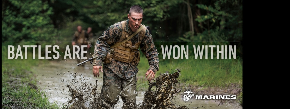 new recruitment ads stress marines as good citizens