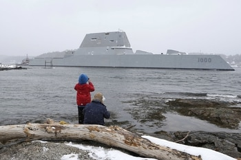 Nearly 4 years after commissioning, the US Navy is about to get a fully working stealth destroyer