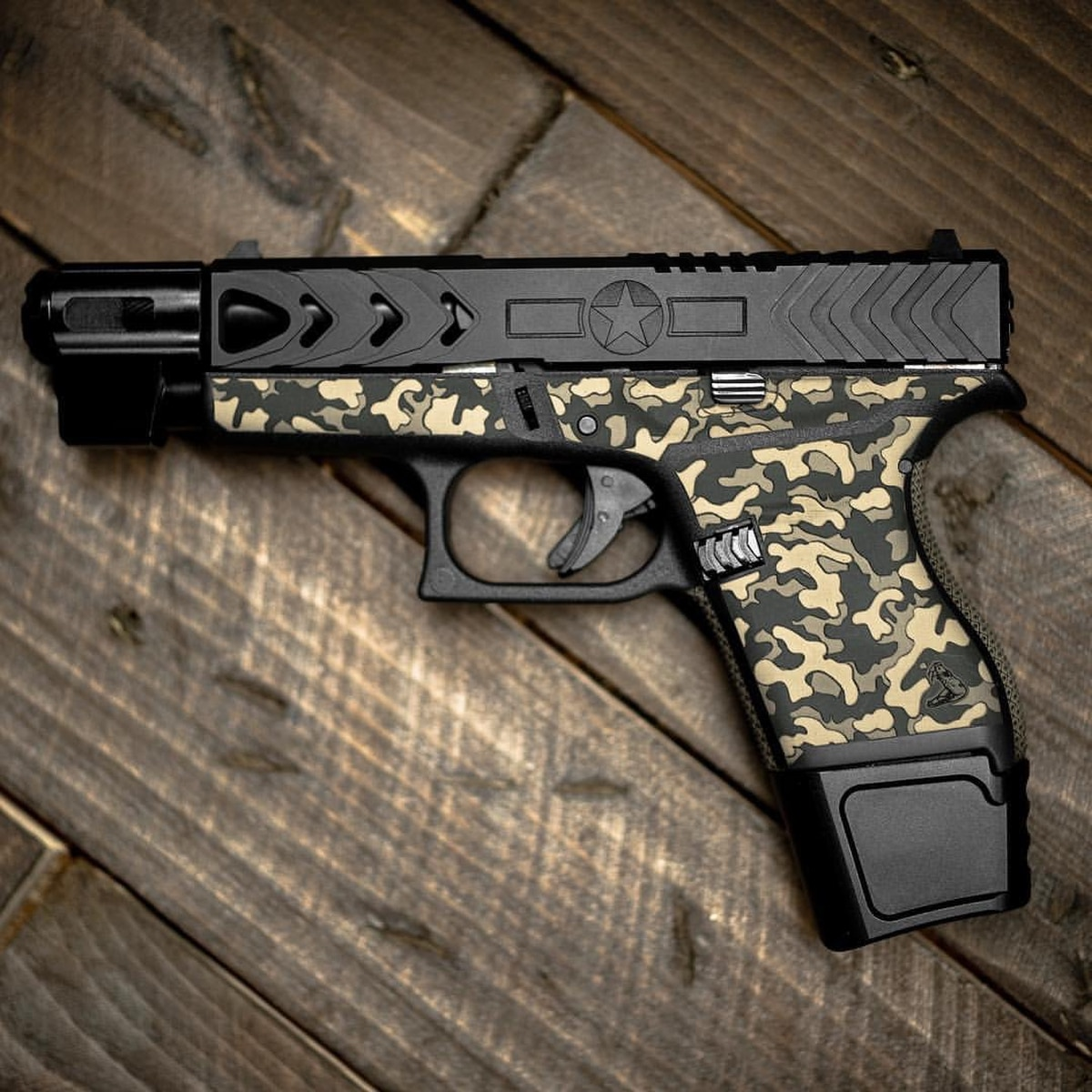 You could try to make your Glock 43 or 43X look cool without this