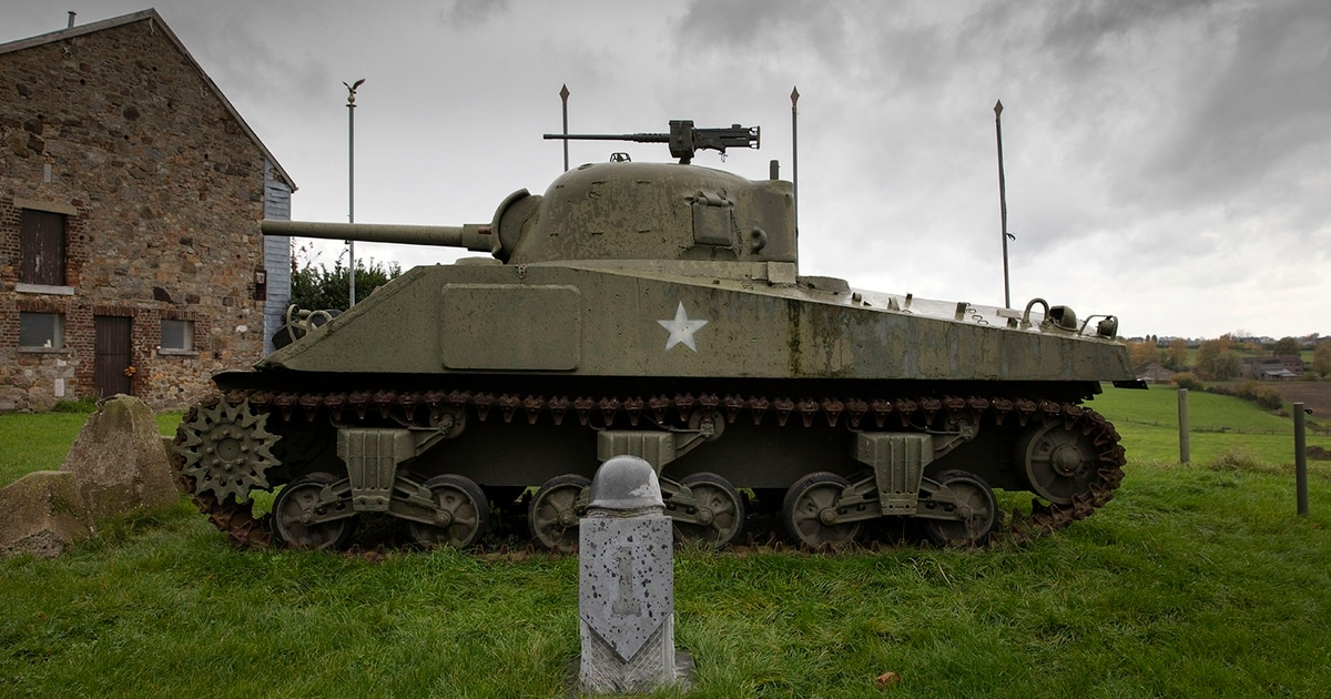 Ever wanted to drive a WWII-era tank? Here's your chance