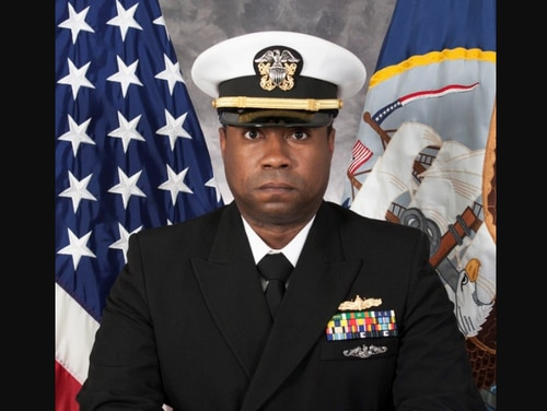 Lt. Cmdr. Randall Clemons was relieved as executive officer of the guided-missile destroyer McCampbell on Tuesday. (Navy)