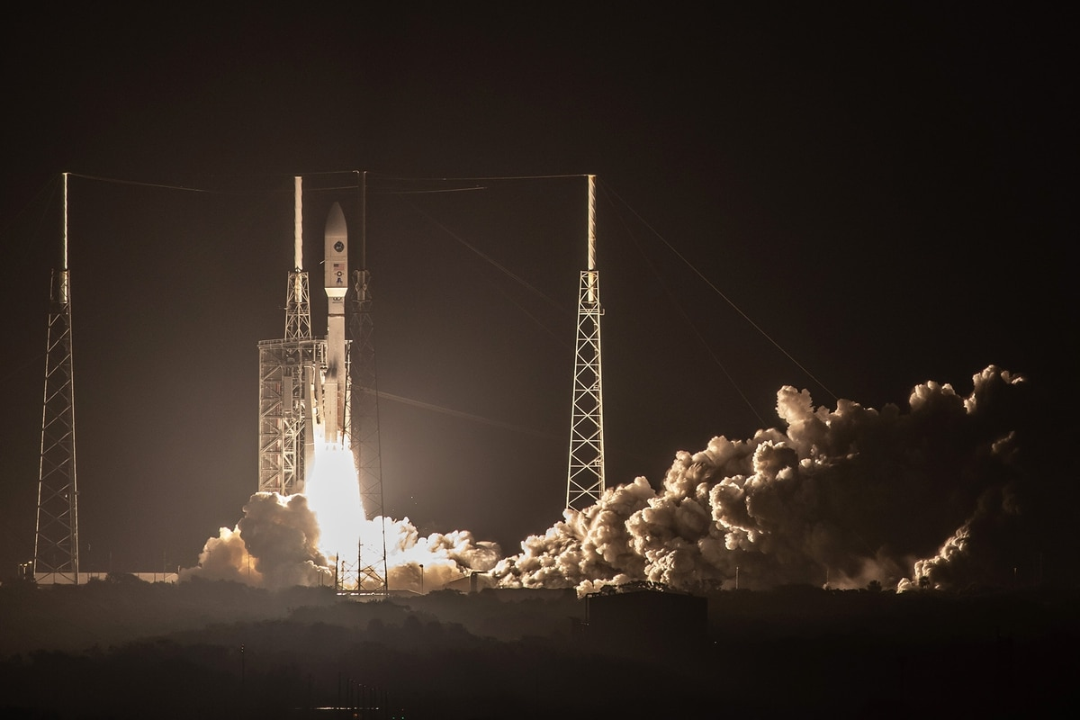 Jam-Resistant US Military Satellite Blasts Off From Cape Canaveral