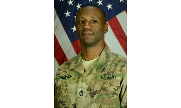 Sgt. 1st Class Allan Brown, 46, died Dec. 7, 2016, from wounds suffered in a Nov. 12, 2016, suicide bomber attack on Bagram Airfield, Afghanistan. (Army)