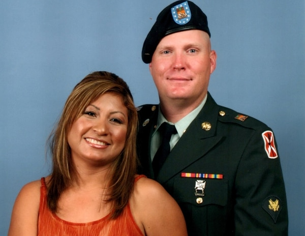 Former Army Spc. Charles Shreve's wife, Claudia, left the U.S. voluntarily in 2017 to avoid deportation. Charles drove the family's household goods to to their new home in Mexico in January. He and the couple's two older children, who are U.S. citizens, will join her after the school year ends in June. (Courtesy of Charles Shreve)