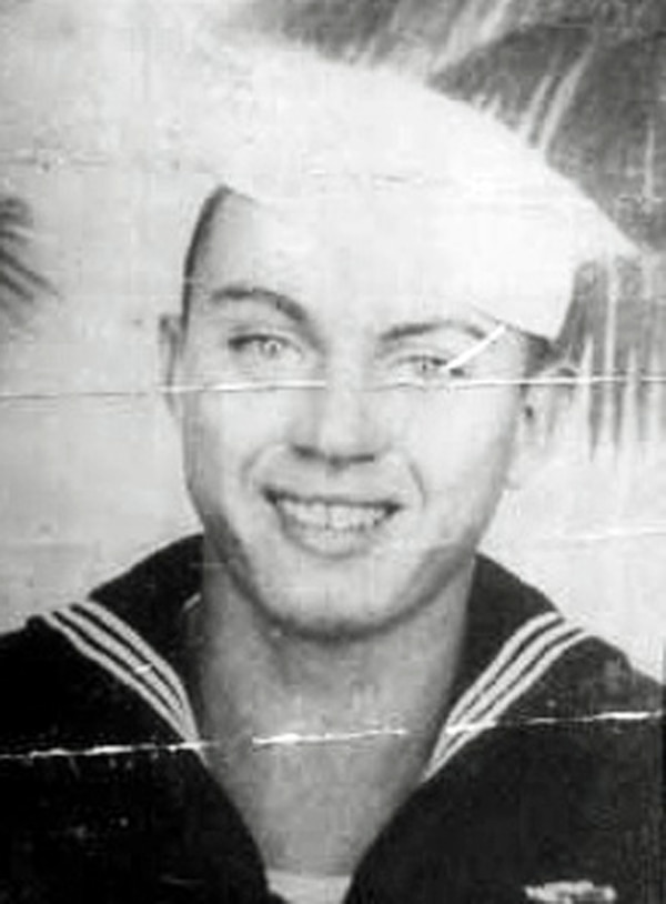 In this undated photo released by the Defense POW/MIA Accounting Agency is Navy Aviation Machinist's Mate 2nd Class Durell Wade. Due to scheduling conflicts at the Mississippi Veterans Memorial Cemetery, his family decided Friday, Dec. 7, 2018, the 77th anniversary of the Japanese attack would be appropriate for his burial in his home state, even though people might have to take time off from work to attend, said his nephew, Dr. Lawrence Wade. (Defense POW/MIA Accounting Agency via AP)