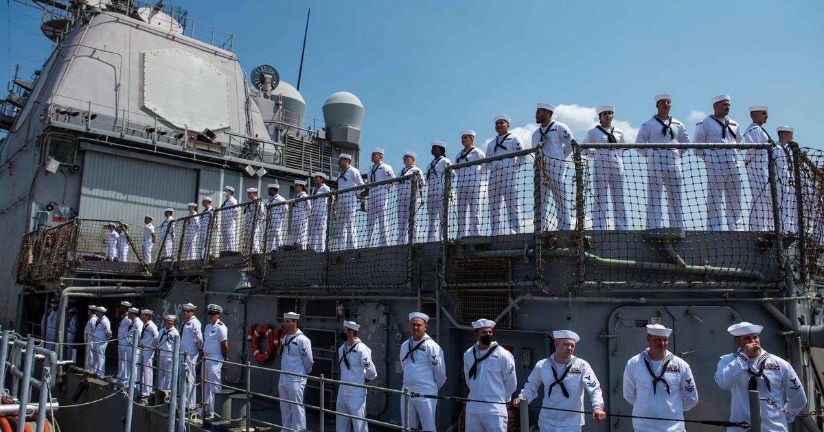 Vella Gulf concludes deployment, returns to Norfolk