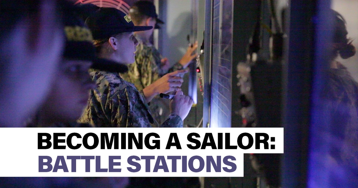 Becoming a Sailor, Part 7: Battle Stations