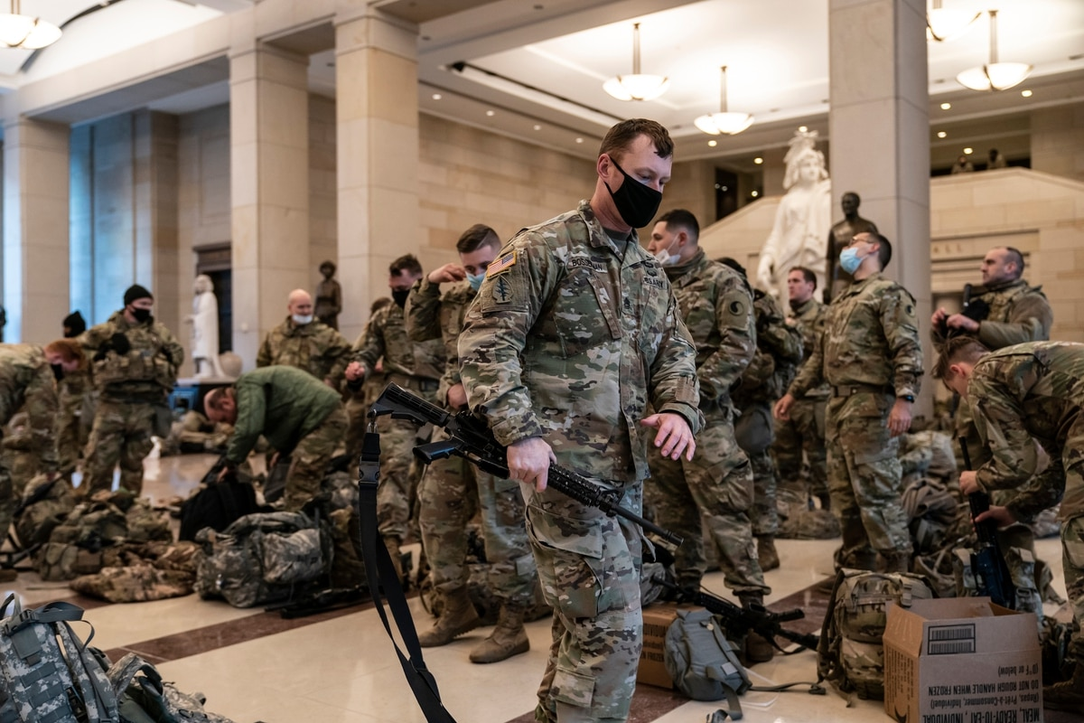 Capitol riot was attack on 'our constitutional democracy,' Army leadership  says