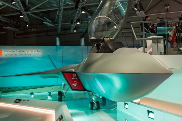 The Tempest future combat air program will likely benefit from the commitment of new money. (Staff)