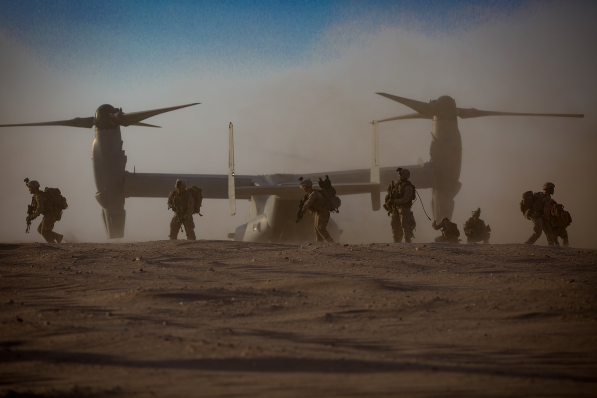 One Marine battalion covers three Middle East war zones